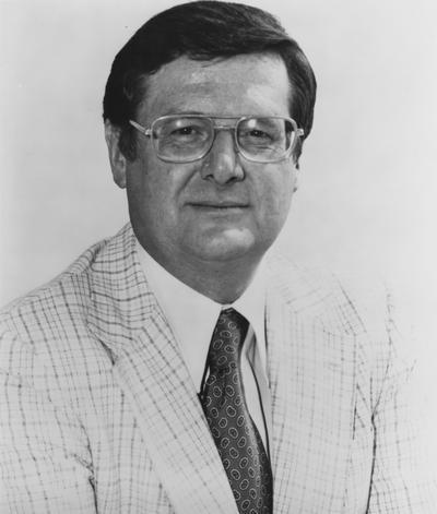 Hall, Joe B., University of Kentucky Men's Basketball Coach 1972-1985