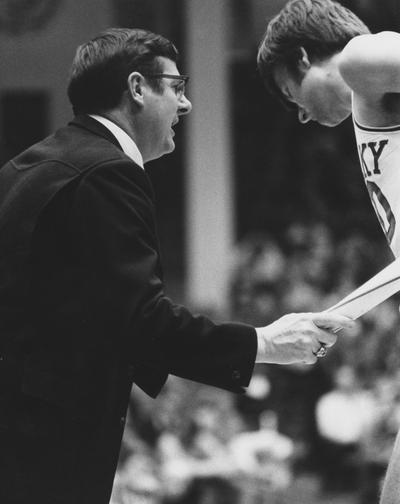 Hall, Joe B.,University of Kentucky Men's Basketball Coach 1972-1985
