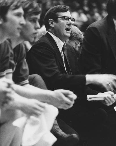 Hall, Joe B., University of Kentucky Men's Basketball Coach 1972-1985