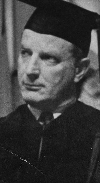 Arthur, William B., Born in Louisville, Kentucky, on September 6, 1914. 1937 alumnus, Journalist. Executive Director of the National News Council. Editor of LOOK magazine