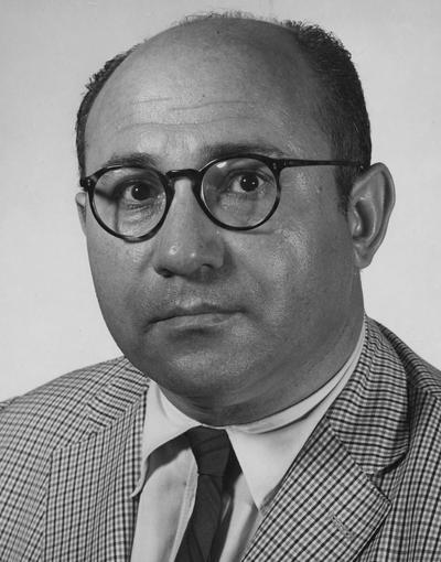 Balows, Albert, College of Medicine, Professor of cell biology, 1948 - 1969