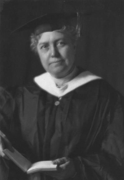 Hamilton, Anna, Dean of Women and Associate Professor of English 1910-1918
