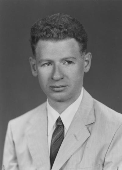 Hanau, Richard, Professor of Physics,  photographer: Lively Studio Janurary 10, 1957