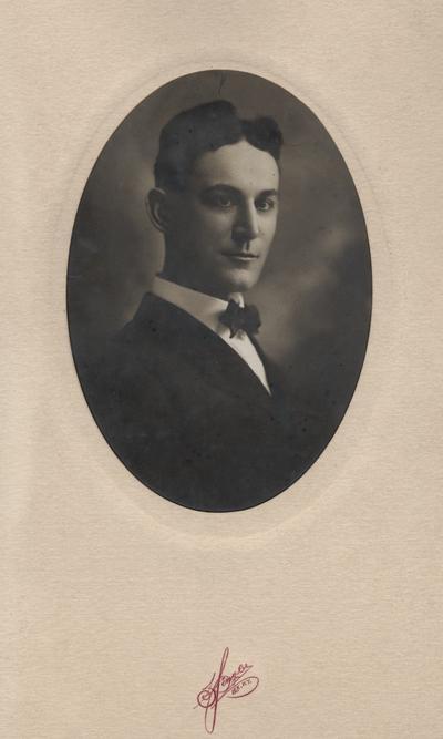Hooper, John J., Professor of Dairy Hunbandry 1905-1928, born in Colorado Texas 1883,  Graduate class 1901