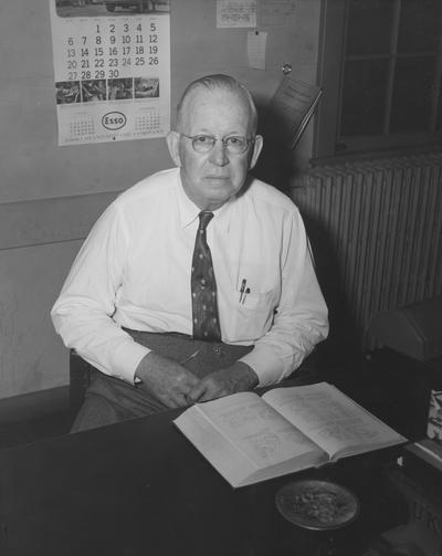 Horine, John Sherman, Professor of Mechanical Engineering