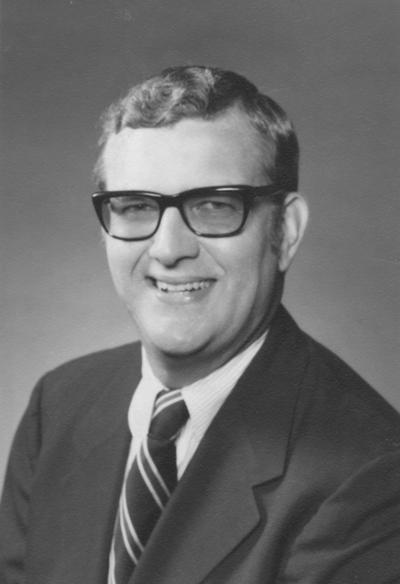 Hornback, Raymond R., Vice President of University Affairs, Alumnus of College of Journalism