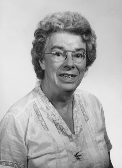 Hotchkiss, Margaret, Professor of Microbiology