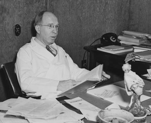 Huddleston, Forest, Professor of Microbiology and Public Health, Photographer: Nelson