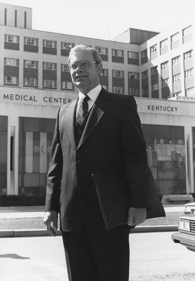 Hunckler, Eugene J., Development Officer for the University of Kentucky Medical Center, University Information Services