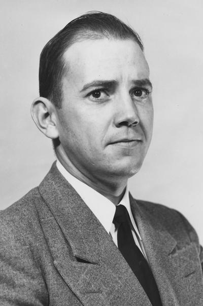 Johns, Kenneth B., 1950 alumnus, Public Relations Department