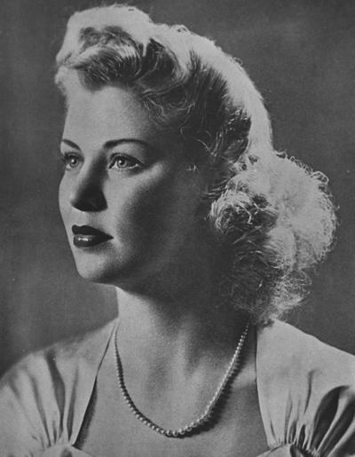Johnson, Julia, (Mrs. Maxwell Barrett), featured in the 1943 Kentuckian, also in Lexington Herald Leader in 1965, May 9, 1943 Queen