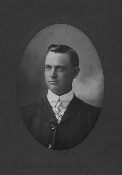 Johnson, William P., 1901 alumnus, Photographer: Mullen, Lexington Kentucky
