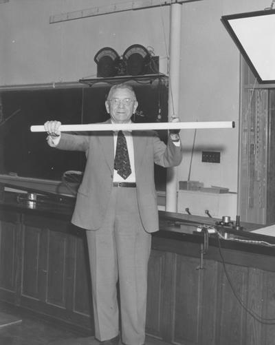 Koppius, Otto Townsend, birth, death 1965, Professor of Physics 1924-1959, Head of Physics Department 1952-1953, Public Relations Department