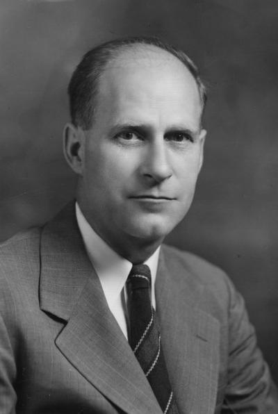Beers, Howard W., Professor of Rural Sociology, 1939 - 1974, Public Relations Department, photographer: Adam Pepiot Studio