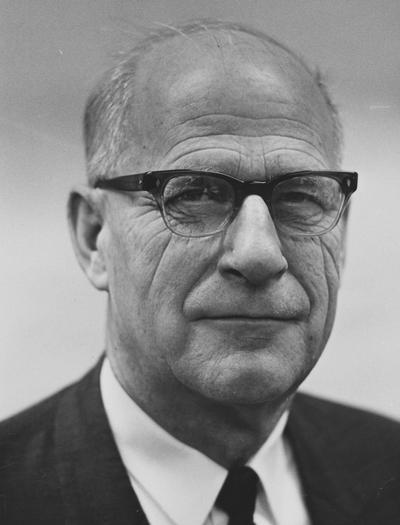 Beers, Howard W., Professor of Rural Sociology, 1939 - 1974, Public Relations Department