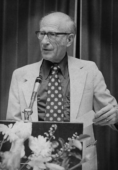 Beers, Howard W., Professor of Rural Sociology, 1939 - 1974, University Information Services
