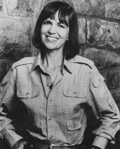 Mason, Bobbie Ann, University of Kentucky Hall of Distinguished Alumni; Author of In Country, published by Harper and Row 1985, photograph by Thomas Victor