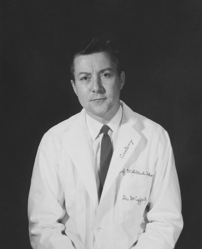 McCafferty, Robert Eugene, Assistant Professor of Anatomy