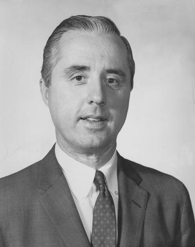 McCowan, Robert T., 1951 University of Kentucky Alumnus, Vice President of Ashland Oil Company, photograph used in Winter Kentucky Alumnus magazine and Lexington Herald Leader