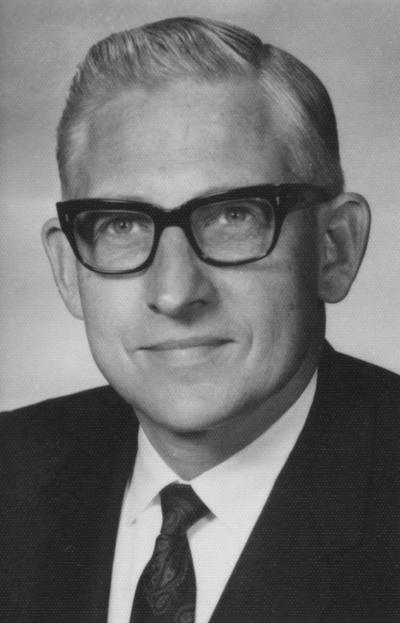 Morris, Alvin Leonard, Dean of College of Dentistry