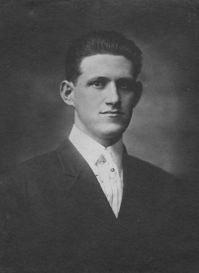 Neagle, Walter Cleveland, Agriculture Class of 1917, Killed in Train Wreck  Gail, France October 18, 1918