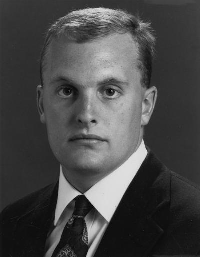 November, Pete, 1992 - 1993 Student Government President and Student Member of the Board of Trustees