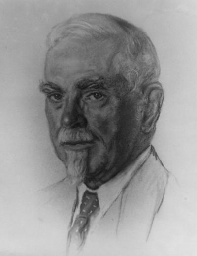 O'Rear, Edward Clay, b 1863 d 1961, University of Kentucky Member of the Board of Trustees December 1946 - 1949, This picture of Judge O'Rear was sent to the President s office by Mr. Wild in 1946 and sent from the President's office to University Archives