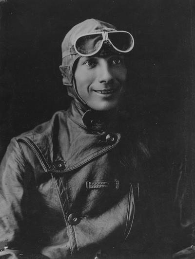 Blevins, Clarence Elmo, Class of 1914, Lieutenant Aviation A. E. F., killed in airplane accident, England, 1918