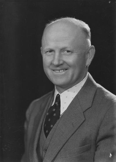 Boles, Stanley Atwood, Athletics Director, 1916 - 34, Department of Public Relations, photographer: Lafayette Studio
