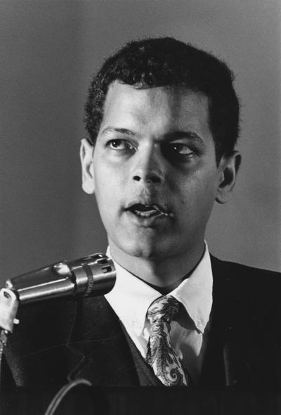 Bond, Julian, Chairman, National Association for the Advancement of Colored People (NAACP), Professor, American University and University of Virginia, Georgia House of Representatives, 1965 - 1974, Georgia Senate, 1974 - 1987