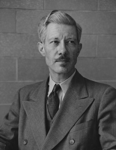 Rannells, Edward Warder, Professor of Art, photograph by John B. Kuiper