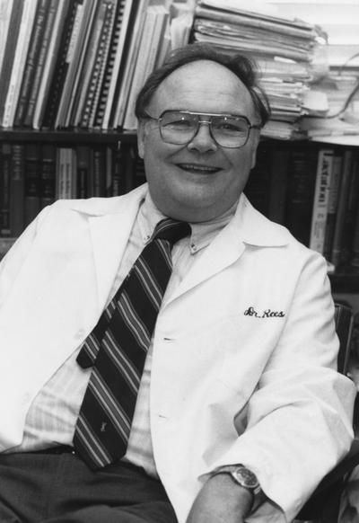 Rees, Earl Douglas MD., Assistant Professor of Medicine