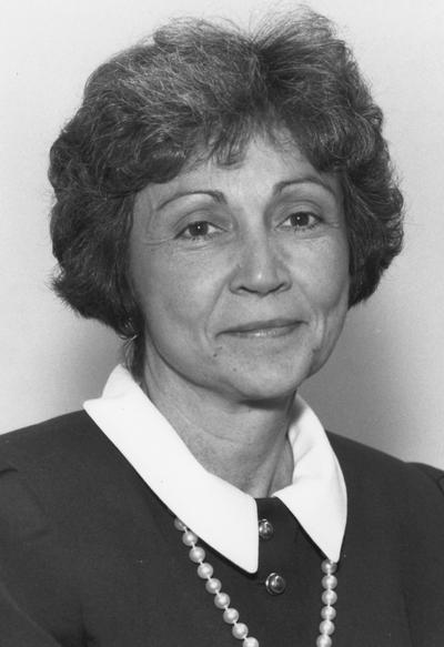 Rhoads, Judith L., 1989 - 92 Member of the University of Kentucky Board of Trustees