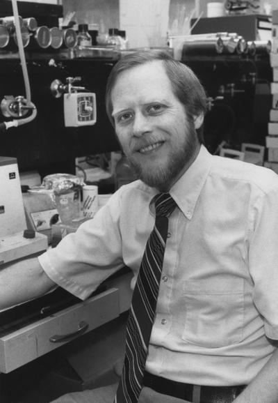 Rhoads, Dr. Robert E., Professor of Biochemistry, from University Information Services