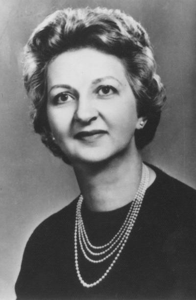 Seward, Doris, Dean of Women and Professor of Education