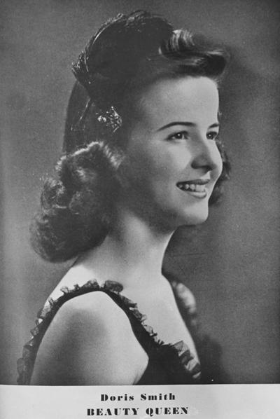 Smith, Doris, Beauty Queen (1944), printed in the Lexington Herald Leader May 9, 1965, print dated