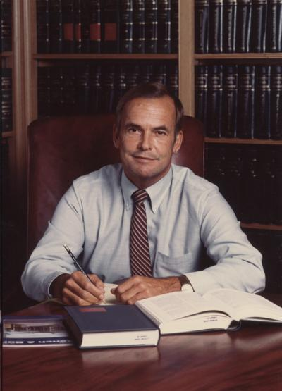 Stephens, Robert F., 1988 - 92 Member of the Board of Trustees, photograph by Rogers Studio