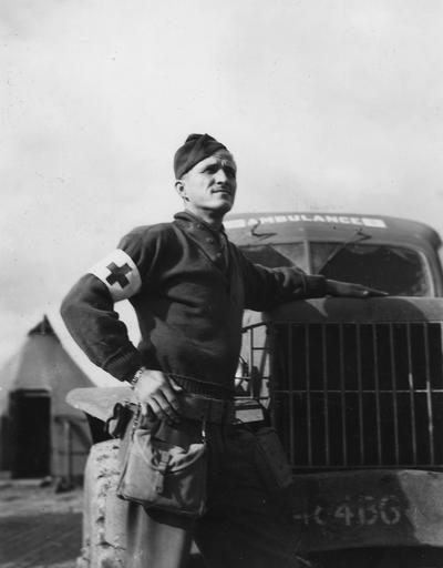 Bowles, J. B., Medic with a B - 24 liberator squadron stationed in Italy during World War II