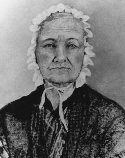 Elizabeth Johnson Bradford, mother of alumnus of the University of Kentucky, Laban Bradford