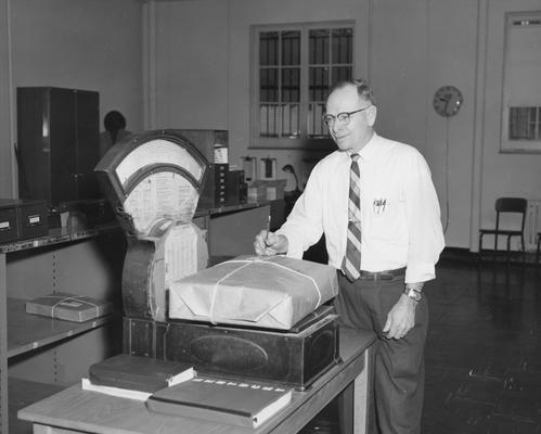 Bradshaw, Adrian, Superintendent of Mail Service, Public Relations Department