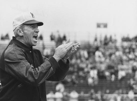 Bradshaw, Charles, Head Football Coach, 1962 - 1968