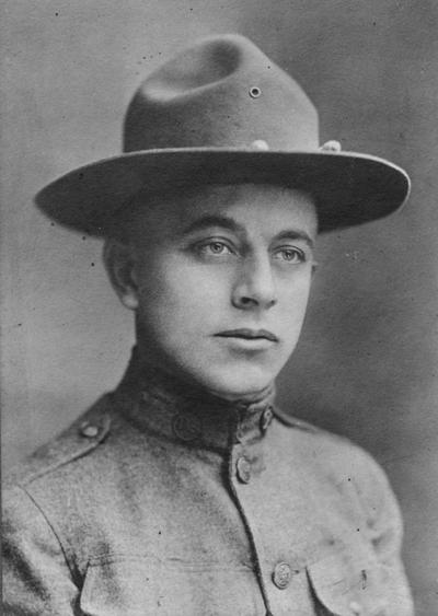 Bridges, Leonard Cabell, Alumnus, Class of 1910, College of Engineering, Sergeant 301st Mechanical Unit, United States Army, died 1918 of pneumonia in France
