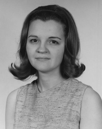 Britton, Freida Lynn, Home Demonstration Agent, Cooperative Extension Service, College of Home Economics, 1967 - 1968