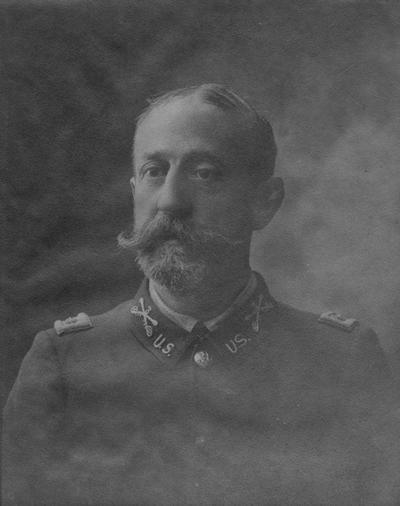 Swigert, Samuel Miller, University of Kentucky Commandant 1894-1898, United States Calvary, from Military Department