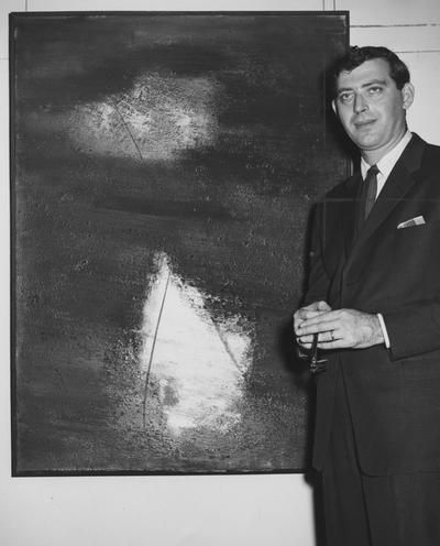 Thursz, Frederick M., Professor of Art, from Public Relations Department