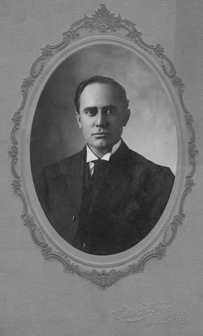 Walker, Lewis L.,  1908 - 1915 member of Board of Trustees