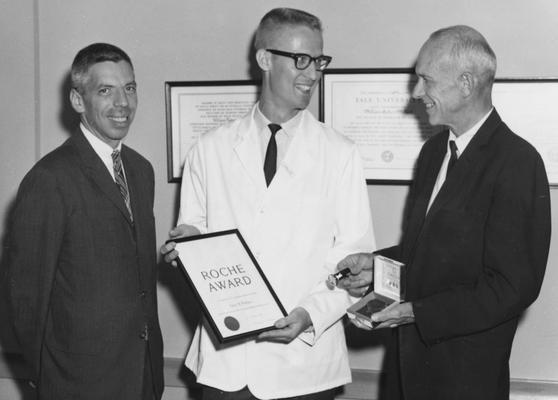 Wallace, Gary, Award Winner at Medical Center