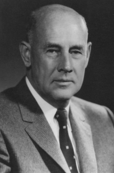 Ware, Louis, 1917 B.S. M.E., 1952 Honorary,  photograph by Fabian Bacharach