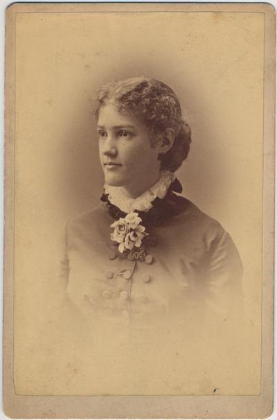 White, Sallie, photograph by T. Assett