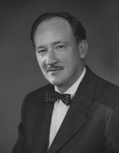 Whitehead, Don, Associated Press War Correspondent, received Honorary Degree in 1948, photograph by Harris and Ewing, from Public Relations Department